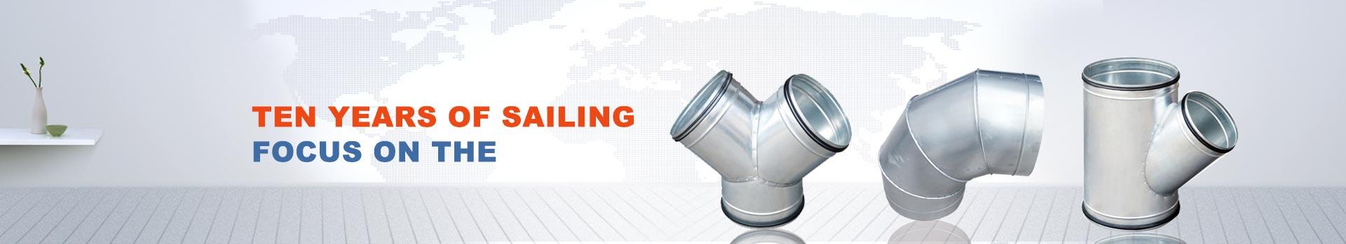 Angle steel flange duct-Zhengzhou Yangfan Ventilation